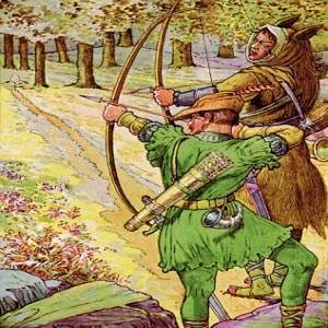 Robin Hood and the Golden Arrow Legend Story