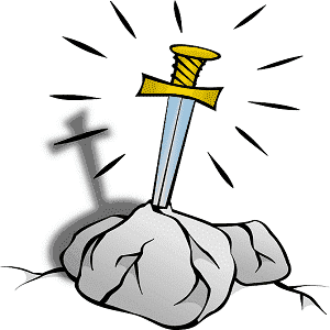 The Sword in the Stone King Arthur Legend of the Sword Story