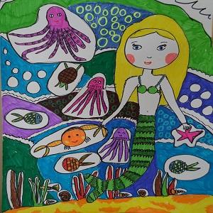 Little Mermaid for children